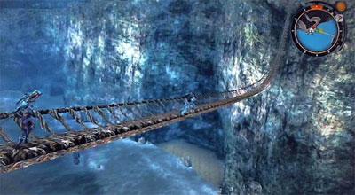 ゼノブレイド マクナ原生林のつり橋
